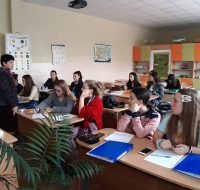 Students learn about the flora of Rila Monastery Nature Park