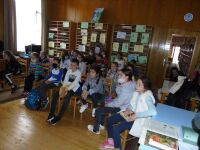 "We celebrate the Earth Day with the children from the reading club ""Fairytale World"""
